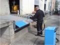 nástrek nakladacej plošiny termoplastom za pomoci Gladiátora