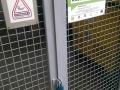 Kovová brána povrchovo upravená termoplastom pre dlhú životnosť_1