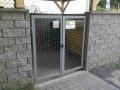 Kovová brána povrchovo upravená termoplastom pre dlhú životnosť_2