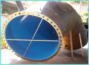 anktikorozna ochrana - poplasovanie vodovodných potrubí z vnútra