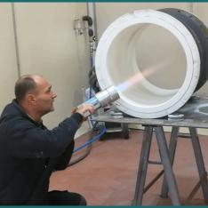 antikorozna ochrana - poplastovanie potrubí a fitingov na vodu