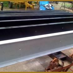 Poplastované kovové konštrukcie